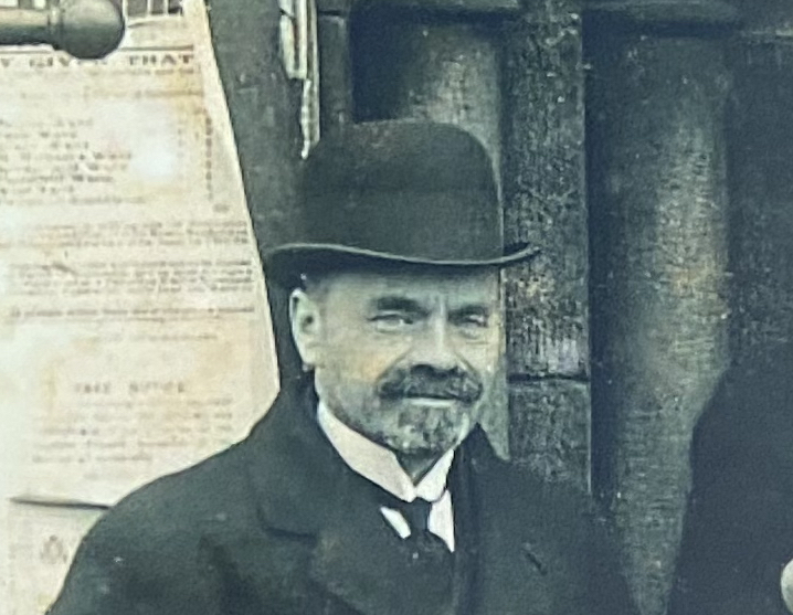 Cecil Polhill in Sunderland in 1913